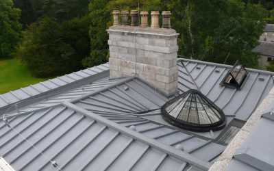 Stately Home Roof Project, Co. Wicklow